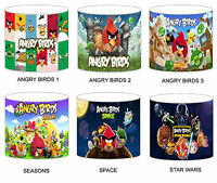 Angry Birds Childrens Lampshades Ceiling Light Table Lamp Curtains Duvet