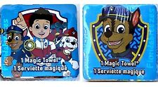 (2) PAW PATROL Chase & Ryder MAGIC TOWELS Marshall Cartoon Boy Girl GIFT NEW!