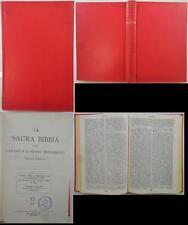J 9108 VOLUME LA SACRA BIBBIA OSSIA L'ANTICO E IL NUOVO TESTAMENTO VERSIONE R...