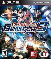 PS3 Dynasty Warriors: Gundam 3 - PlayStation 3 BRAND NEW SEALED (FREE SHIPPING)