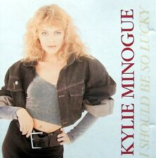 KYLIE MINOGUE-I Should Be So Lucky CDM (1988) Injection Holland