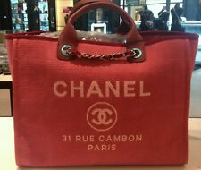 Chanel Deauville Large Tote, NEW