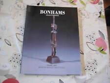 BONHAMS  CATALOGUE TRIBAL ART DEC96