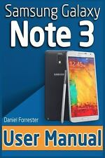 Samsung Galaxy Note 3 User Manual by Daniel Forrester (2014, Paperback)
