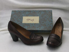 Sofft EuroSoft Randi Burgundy Leather Heel Pump  Size 9 EU 40 NIB $90