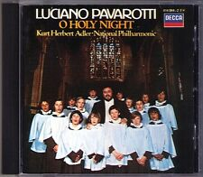 Luciano PAVAROTTI: O HOLY NIGHT Schubert Gounod Ave Maria Adeste Fideles CD 1984