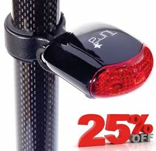 NEW TURA CROMER CYCLE REAR SAFETY LIGHT - 3 x LEDs - MTB MOUNTAIN BIKE BICYCLE