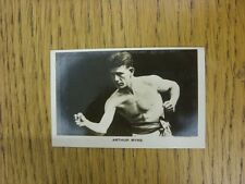 08/07/1922 Trade Card: Boys Friend - Rising Boxing Stars No 10: Arthur Wyns. Unl