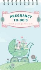 Pregnancy to-Do's: A Book of Lists for Moms-to-Be, Lorimer, Sara