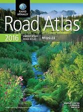 2016 Road Atlas Midsize : Rdms by Rand McNally (2015, Paperback)