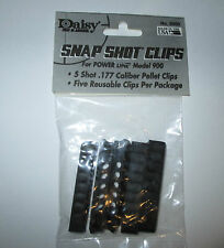 Daisy Snap Shot Clips for POWER LINE 853C-900-953 5 Shot .177 Pellets Clips