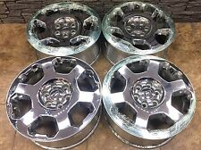 "20"" 20 inch Ford F150 Wheels Rims Chrome OEM Factory Original 4set 4-set 3786"