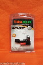 TRUGLO Dual Color Open Red Dot Sight #TG8370B