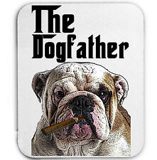 BRITISH BULLDOG DOGFATHER  MAFIA 1- MOUSE MAT/PAD AMAZING DESIGN