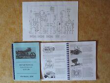Repair Manual Reparaturanleitung MZ ETZ 250 A3 Schaltplan wiring diagram english