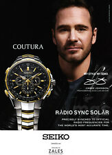 Jimmie Johnson 1-page clipping Dec 2016 ad for Seiko and Zales