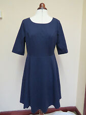 Boden Alice Ponte Dress RRP £99! Capri Blue or Navy *LAST TWO* CLASSY!