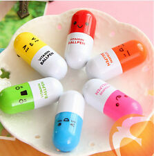 20pcs lovely kawaii pill ballpoint pen Cute learning stationery Student prize