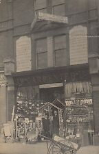 J W Carpenter Ltd, Shopfront, Harrow Road, Maida Vale, Real photo, old pc, 1909