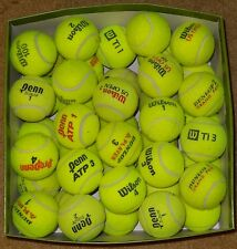 50 Used tennis balls mixed brands. High Quality! Free shipping* Read description