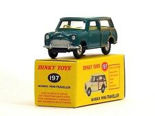 DINKY TOYS ATLAS - MINI MORRIS TRAVELLER - VOITURE NOREV MINIATURE