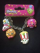 Shopkins Bracelet / Sneaky Wedge, Kooky Cookie, Poppy Corn D-lish & Dough-nut