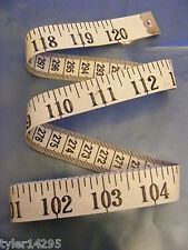 TAPE MEASURE 120 inch*SEWING*NEEDLE CRAFT 120'' *300cm*3m*DOUBLE LENGTH*DIET AID