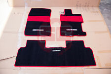 Honda 06-12 CIVIC FD1/FD2 MUGEN Sport Floor Mat Set (Set of 3)