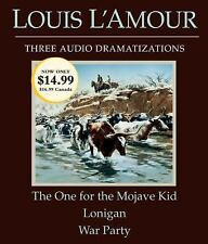 Louis L'Amour Audio Book Drama CD One for the Mohave Kid, Lonigan, War Party