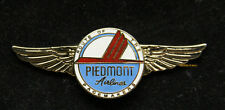 PIEDMONT AIRLINES GOLD WING LOGO HAT PIN UP PILOT FLIGHT CREW RAMP GIFT 737 WOW