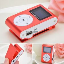 For 32GB 32G Slim Mp3 Player LCD Screen FM Radio ED