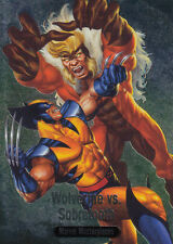 2016 Marvel Masterpieces - Spectra BS-02 Wolverine vs. Sabretooth BS-2 NM/M