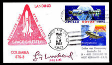 1982 LANDING OF COLUMBIA STS-3 - BUCKHORN LAKE STDN STATION - EDWARDS (ESP#2626)