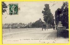 CPA 61 - ALENÇON en 1908 (Orne) Vue prise de la Route de FRESNAY