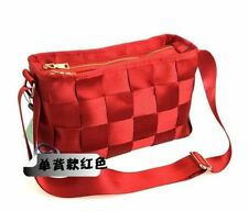 Handmade Women Seatbelt Bag Colorful Large Totes Shoulders Weave Handbags Bags
