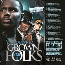 DJ ANT LO GROWN FOLKS SOUL & R&B CLASSICS MIX CD VOL 3