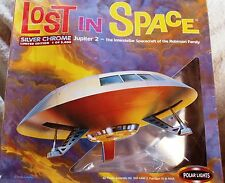 Lost In Space Limited Edition 1 of 5000 Silver Chrome Jupiter 2 Model Kit