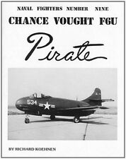 Vought F6U Pirate (Ginter Naval Fighters 6)