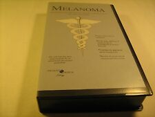 Rare VHS Tape MELANOMA Interferon Alfa-2b Adjuvant Therapy in Post 1995 [Y121c]