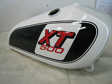 YAMAHA XT500F 1979 MODEL FULL PAINTWORK DECAL KIT