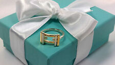 NEW Tiffany & Co. Frank Gehry Axis Ring Size 8 Gold 18k Sterling Silver 925