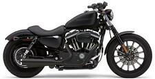 Cobra Power Pro HP 2-into-1 Exhaust - Sportster 07-13 - BLACK 6441B 1800-1324