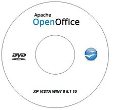 Open Office 2015 Profesional Suite Business, Windows Xp Vista Win 7 8 8.1 10
