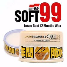 Soft99 Fusso 12 months Auto Care Waterproof Wash Coat Detailing Wax Light Color