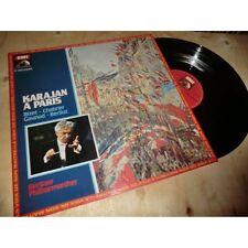 HERBERT VON KARAJAN bizet - emmanuel chabrier - charles gounod - berlioz HMV Lp