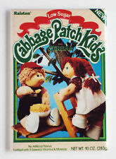Cabbage Patch Kids Cereal FRIDGE MAGNET (2.5 x 3.5 inches) box doll treehouse