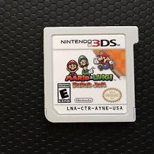 Mario And Luigi: Paper Jam (Nintendo 3DS, 2016) Super Rare Bros Video Game