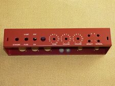 5E3 Chassis For TWEED DELUXE DIY BUILD, OXBLOOD POWDERCOAT USA made, free ship