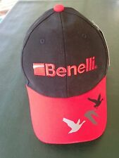 Benelli Black/Red  ALL-Weather Ball Cap M/L Size