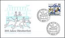BRD 2010: Oktoberfest! FDC der Nr 2820 mit Berliner Ersttags-Sonderstempeln! 155